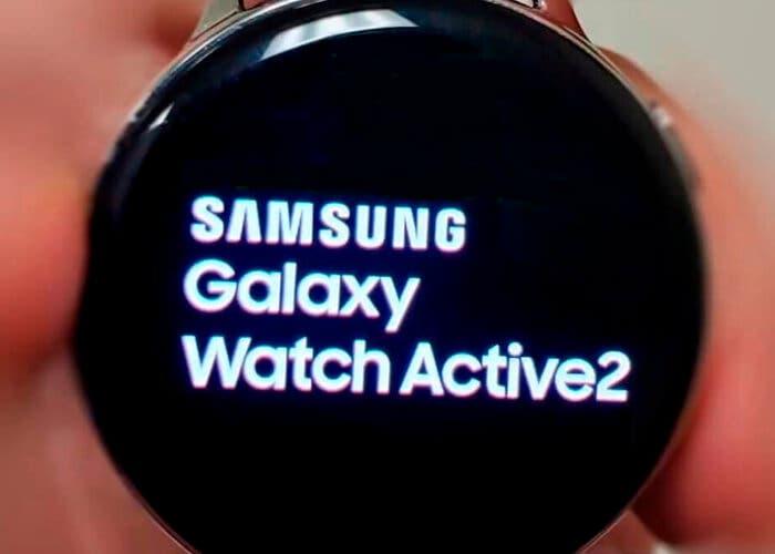 Así será el Samsung Galaxy Watch Active 2 según esta imagen oficial