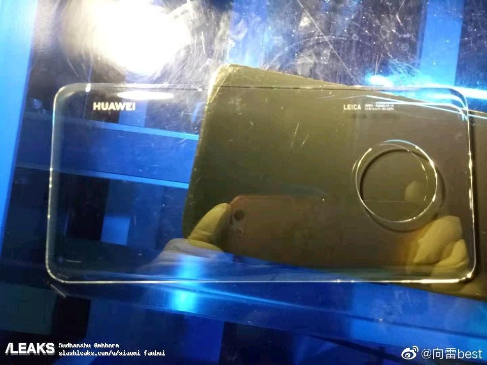 Este es el próximo diseño de la triple cámara de Huawei