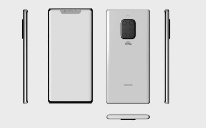 Render Huawei Mate 30 Pro