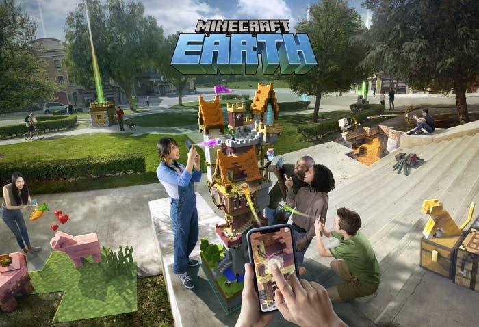 La beta de Minecraft Earth ya está disponible en algunos países