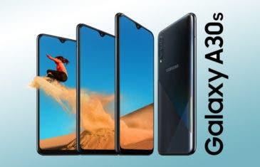 El Samsung Galaxy A30s ya es oficial: la renovación de la gama media