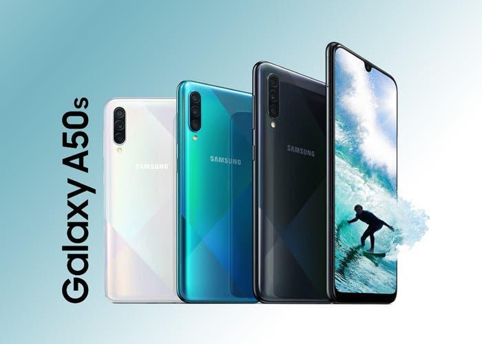 El Samsung Galaxy A50s es oficial: nuevo diseño y mejores cámaras