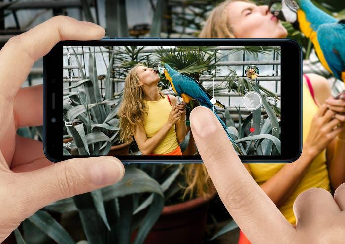 Nuevo LG K20 con Android Go, uno de los móviles más baratos del mercado