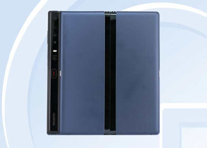 Filtran imágenes del rediseñado móvil plegable — Huawei Mate X