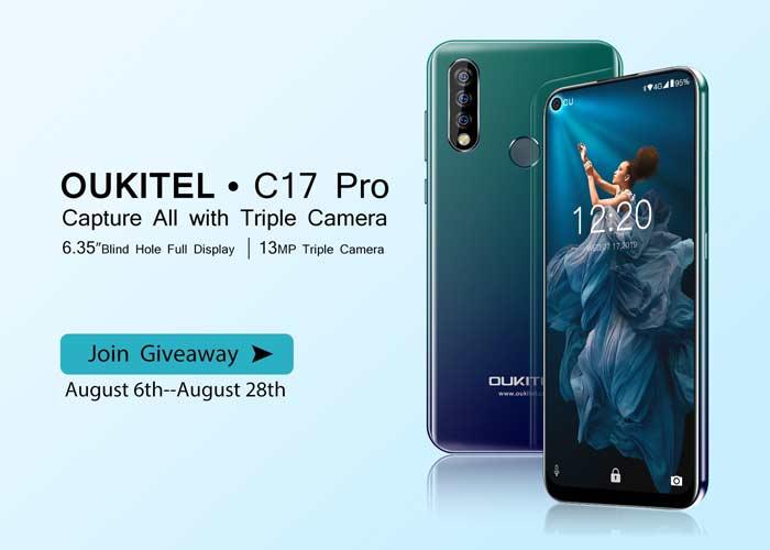 ¡Ahora puedes ganar un Oukitel C17 Pro completamente gratis! ¡Únete al sorteo!