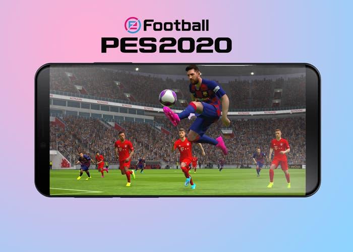 El PES 2020 llegará a los móviles Android en octubre