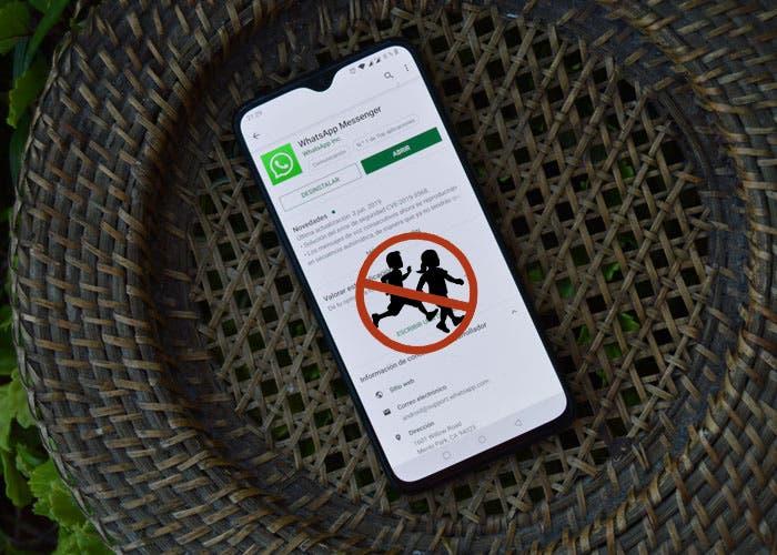 WhatsApp podría eliminar las cuentas de los menores de 16 años