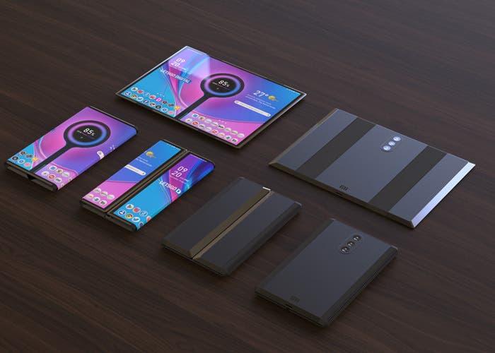 Móvil plegable de Xiaomi: aparecen nuevos renders en máxima calidad