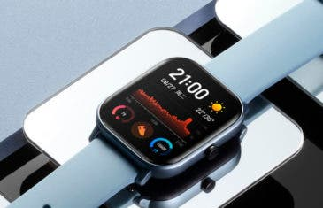 Amazfit GTS, una clara copia al Apple Watch y otros nuevos smartwatch de Xiaomi