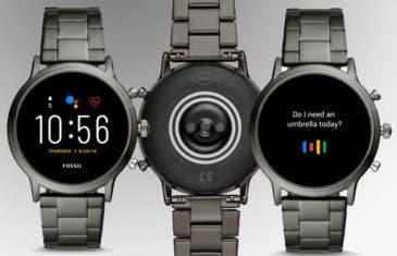 Fossil Gen 5: así son los nuevos y elegantes smartwatch con WearOS