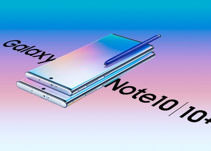 Android 10 para los Samsung Galaxy Note 10 disponible para todos