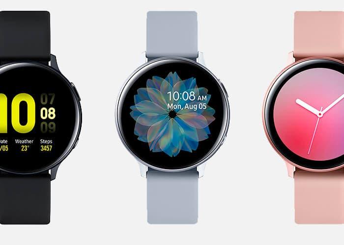 El Samsung Galaxy Watch Active 2 es oficial: más salud y bisel táctil para el nuevo reloj de Samsung