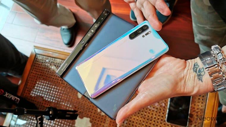 Nueva versión del Huawei Mate X