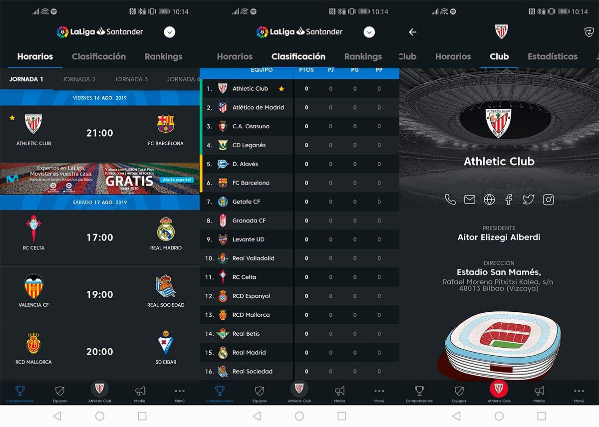 La Liga app oficial