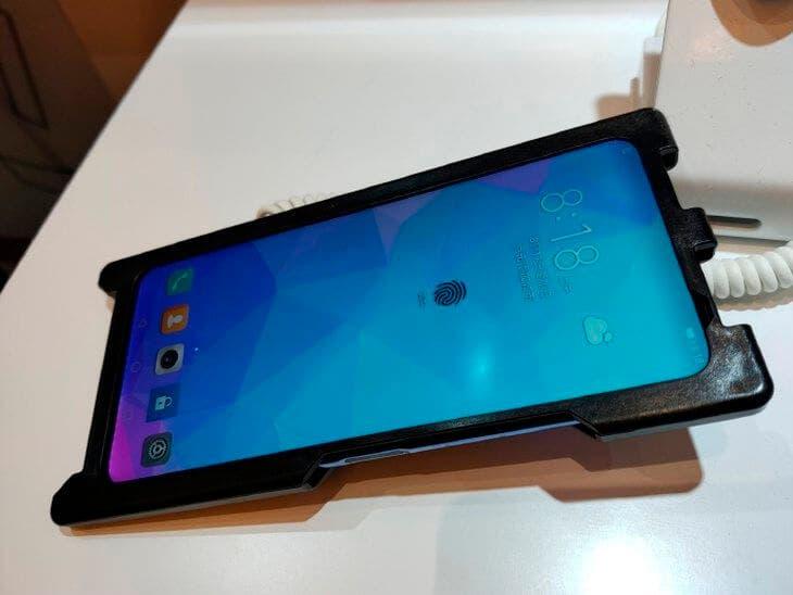 Lector de huellas en pantalla LCD de Huawei