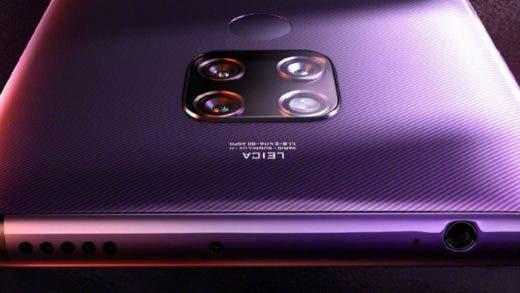 ¿Qué función tendrá cada cámara del Huawei Mate 30 Pro?