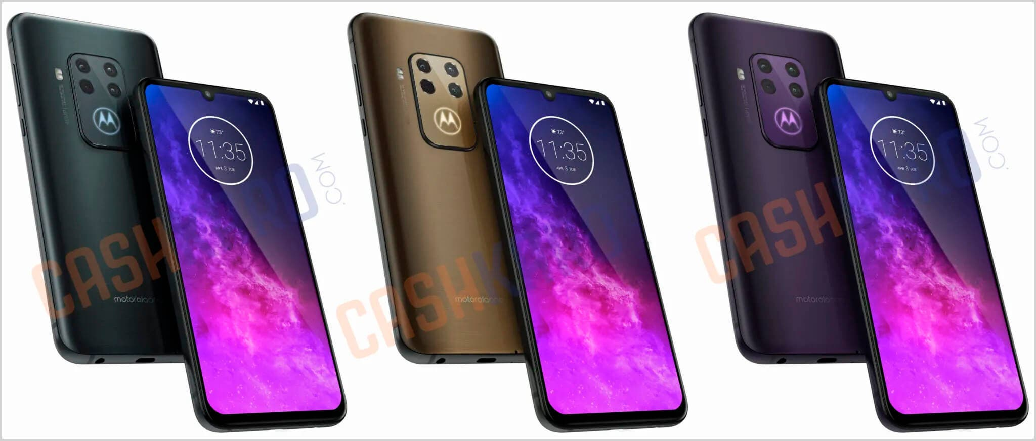 Colores del Motorola One Zoom
