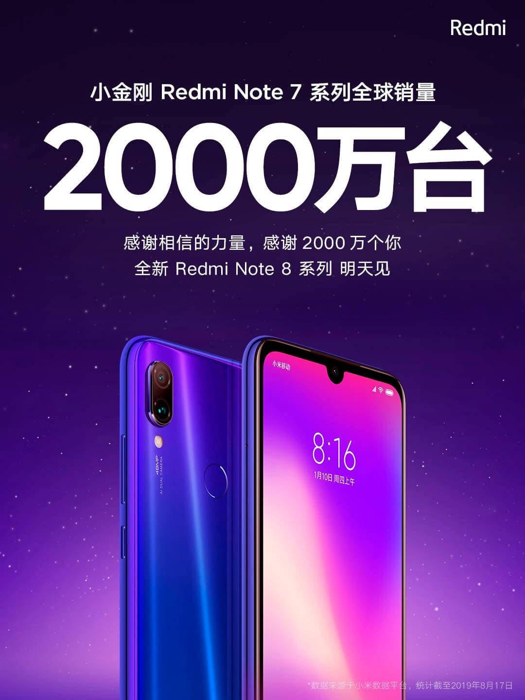 Redmi Note 8 presentación