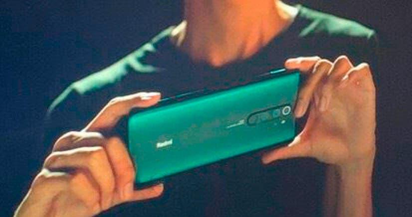 Imagen real del Redmi Note 8 Pro