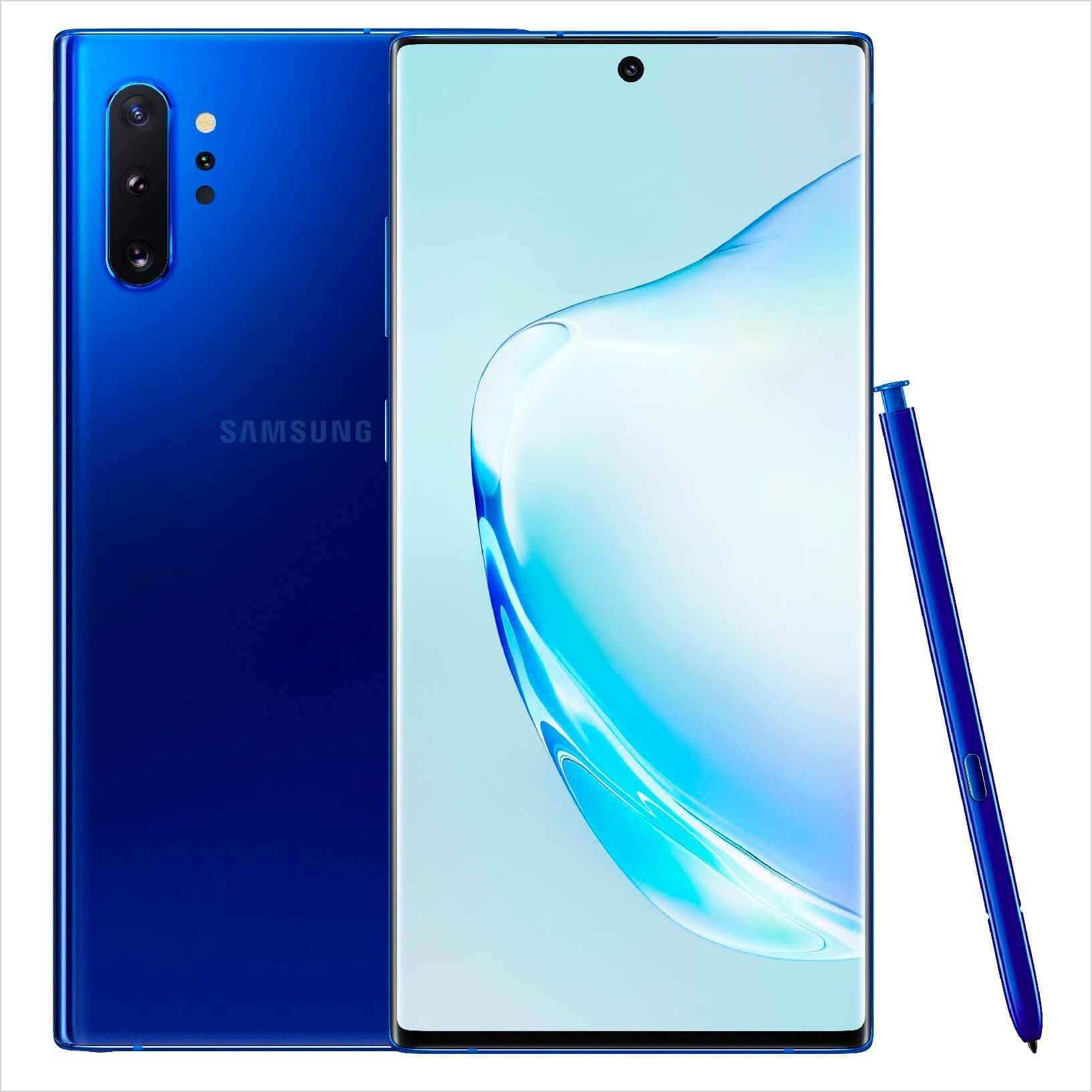 Samsung Galaxy Note 10+ azul