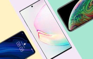 Samsung Galaxy Note 10 vs iPhone XS y Huawei P30: comparativa de características