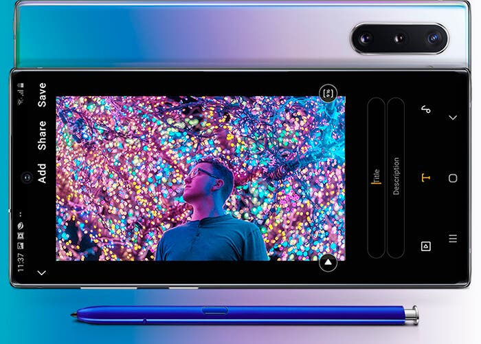 Samsung Galaxy Note 10 oficial