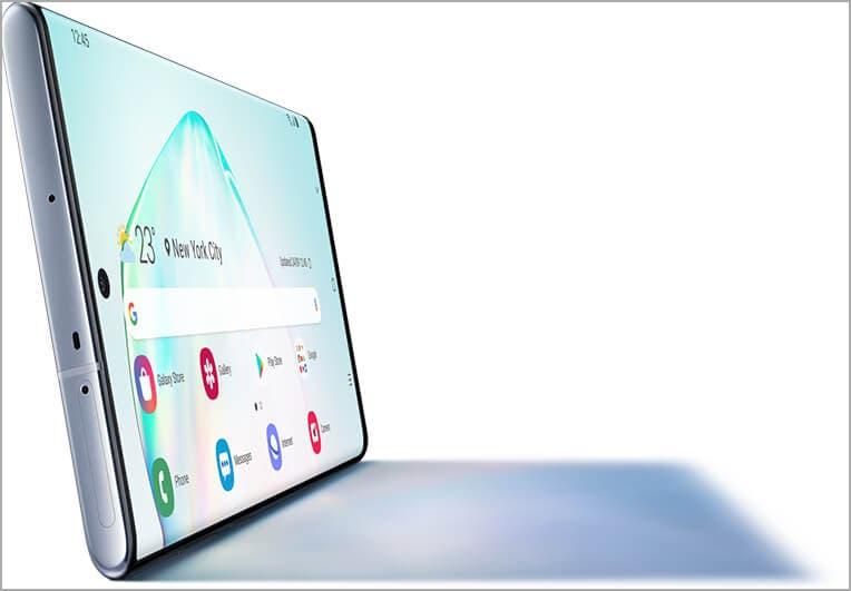 El Samsung Galaxy Note 10+ tiene la mejor pantalla de todo el mercado