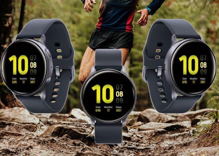 Samsung Galaxy Watch Active 2 al detalle en imágenes de prensa