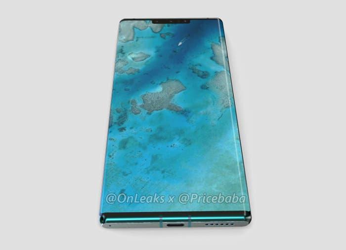 Filtrado el diseño del Huawei Mate 30 Pro con todo lujo de detalles