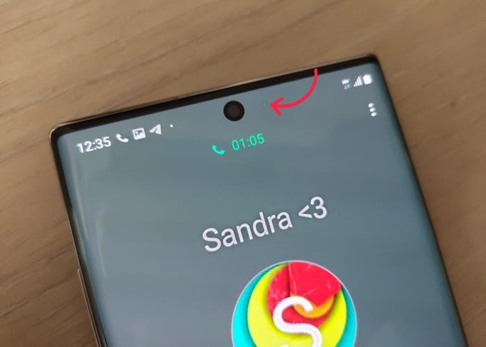 Samsung Galaxy Note 10: ¿qué es exactamente lo que parece un pixel muerto?