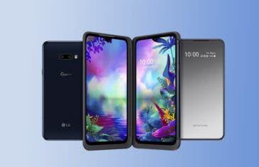 El LG G8X ThinQ ya es oficial: el nuevo móvil de con doble pantalla