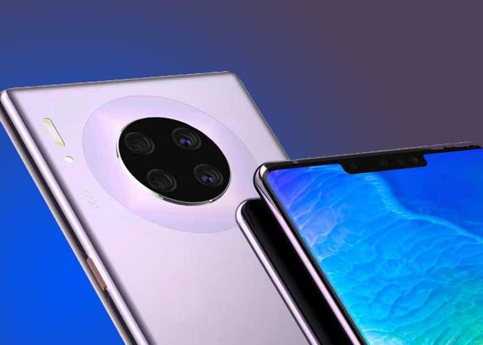 El Huawei Mate 30 llegaría con una muesca más grande