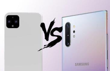 La comparativa de cámaras que esperabas: Google Pixel 4 XL vs. Galaxy Note 10+