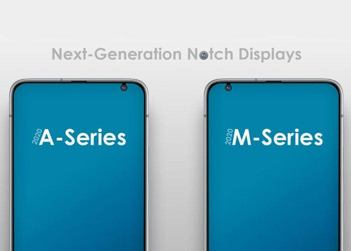 Samsung trabaja en una nueva muesca para su gama media