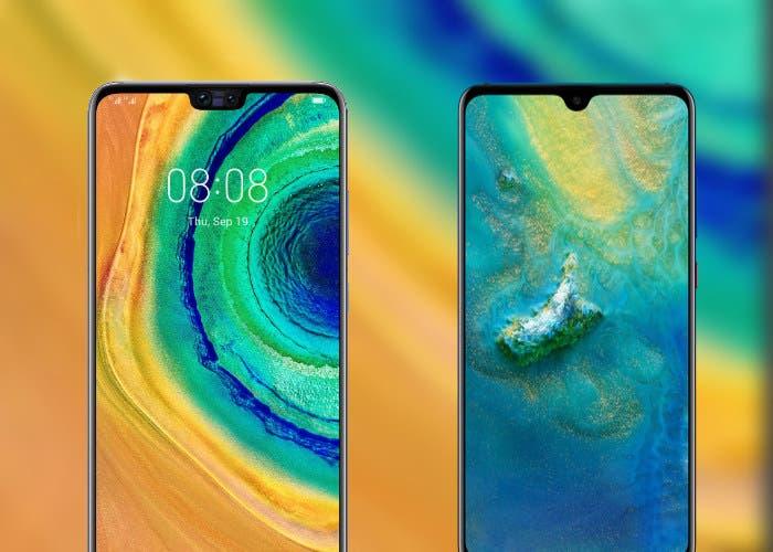 Diferencias entre el Huawei Mate 20 y el Mate 30