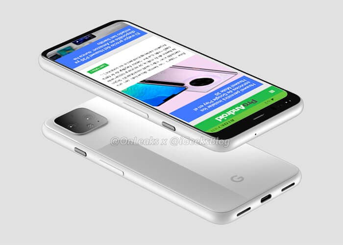 El Google Pixel 4 XL llegará con 8 GB de memoria RAM