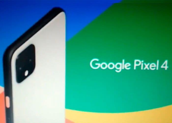 El Google Pixel 4 se muestra en un anuncio mucho antes de su presentación