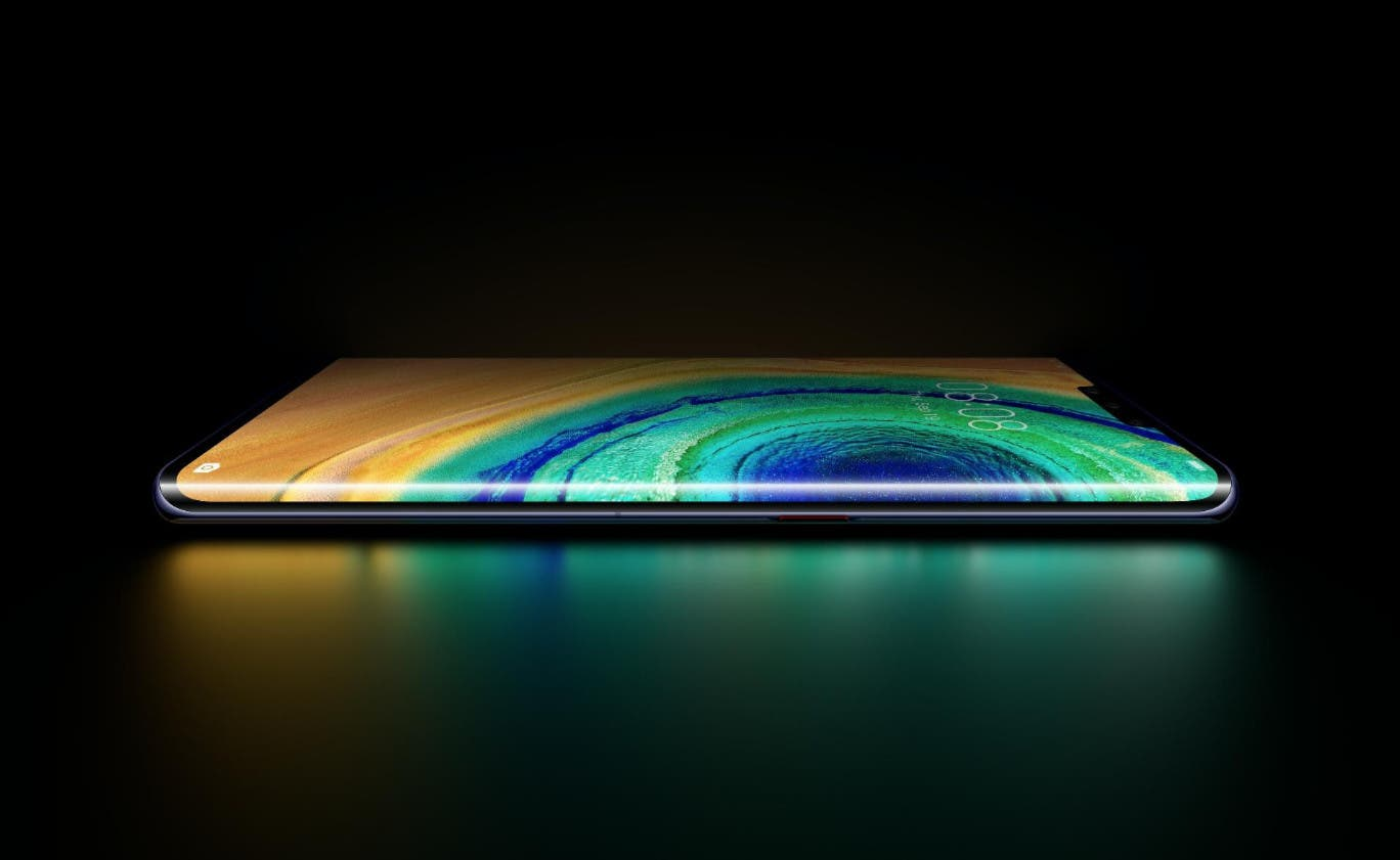 El Huawei Mate 30 Pro no tendrá pulsaciones accidentales en su pantalla tipo cascada