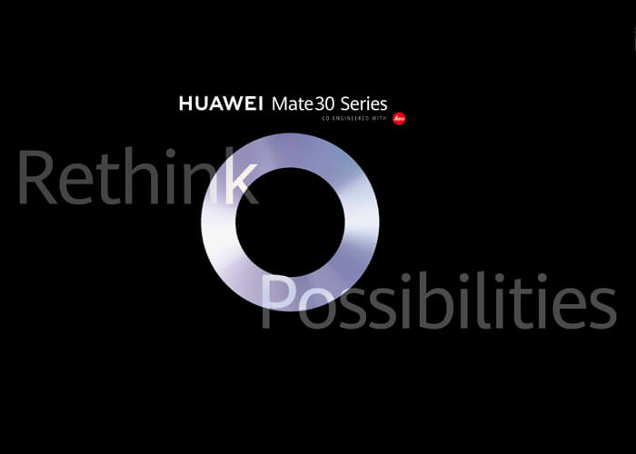 Huawei confirma la fecha de presentación del Huawei Mate 30 y del Mate 30 Pro