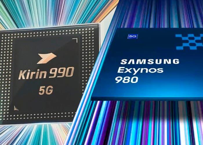 El Kirin 990 y el Exynos 980 serán los primeros procesadores con 5G incorporado