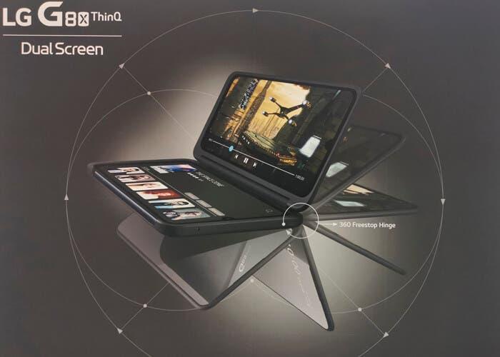 El LG G8X ThinQ se muestra antes de tiempo: el nuevo smartphone con doble pantalla