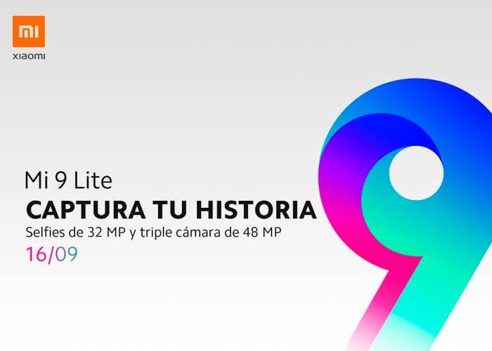 El Xiaomi Mi 9 Lite será presentado la semana que viene