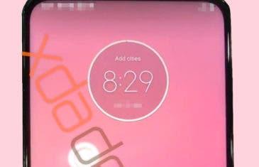 Primera imagen real del teléfono de Motorola con cámara emergente