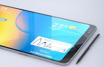 Nuevas filtraciones del móvil plegable de LG: doble pliegue y biseles pequeños