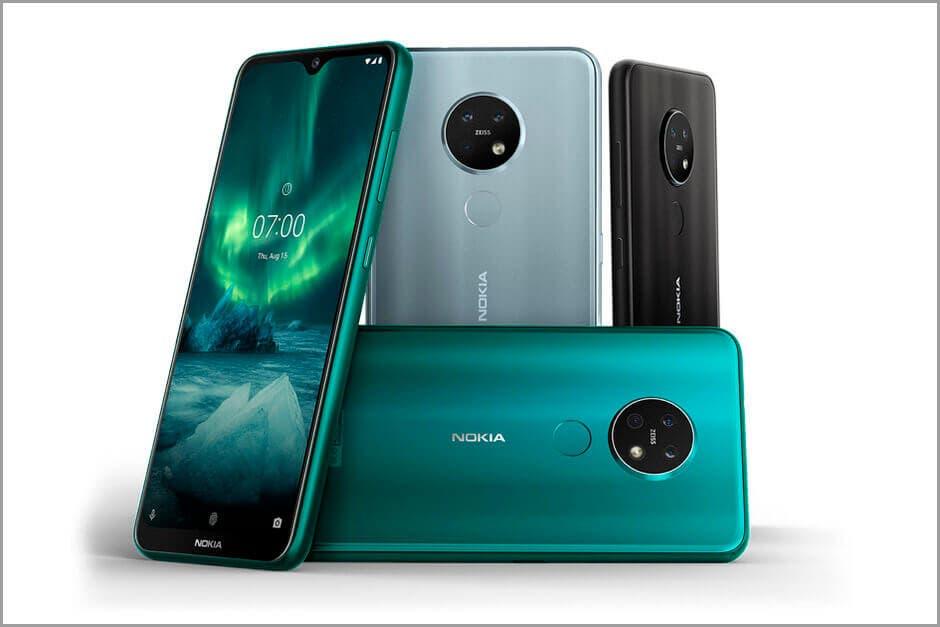 Nokia 6.2 y Nokia 7.2