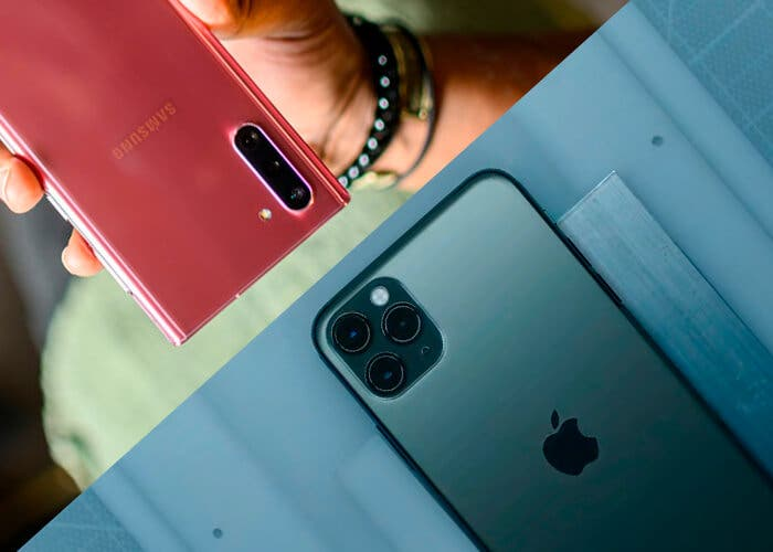 iPhone 11 Pro vs Samsung Galaxy Note 10: comparativa de características
