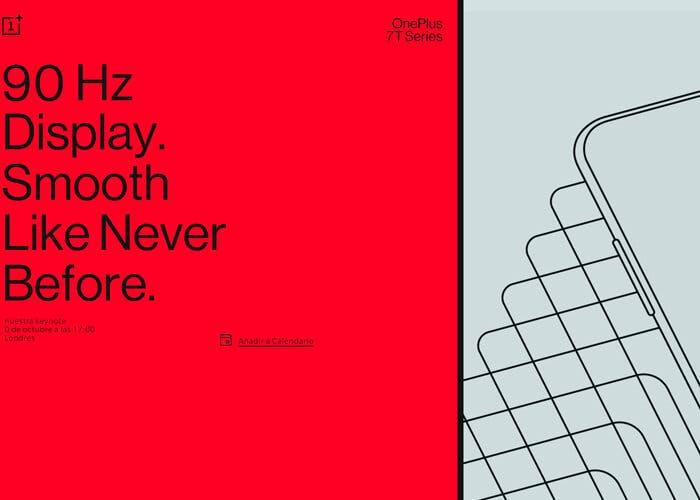 Ya es oficial. OnePlus confirma la fecha de presentación de los OnePlus 7T