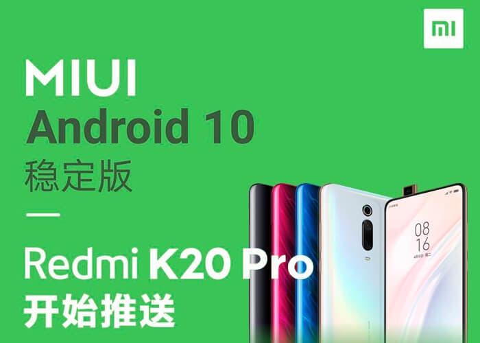 """El Redmi K20 Pro es el primer teléfono """"no Pixel"""" en tener Android 10 estable"""
