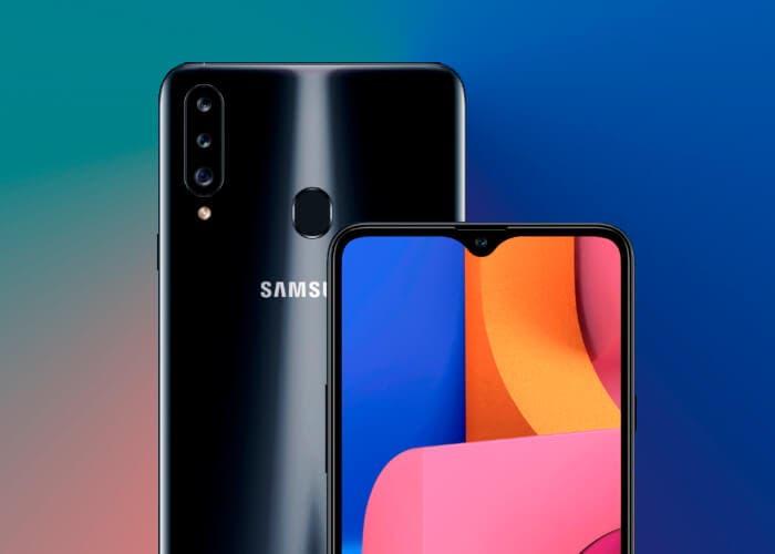 Samsung Galaxy A20s: triple cámara y pantalla de 6,5 pulgadas