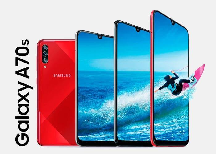 El Samsung Galaxy A70s es oficial: conoce los detalles de esta renovación